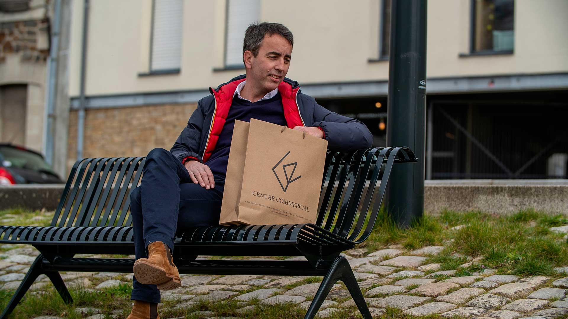 Pack-e luxury paper bag
